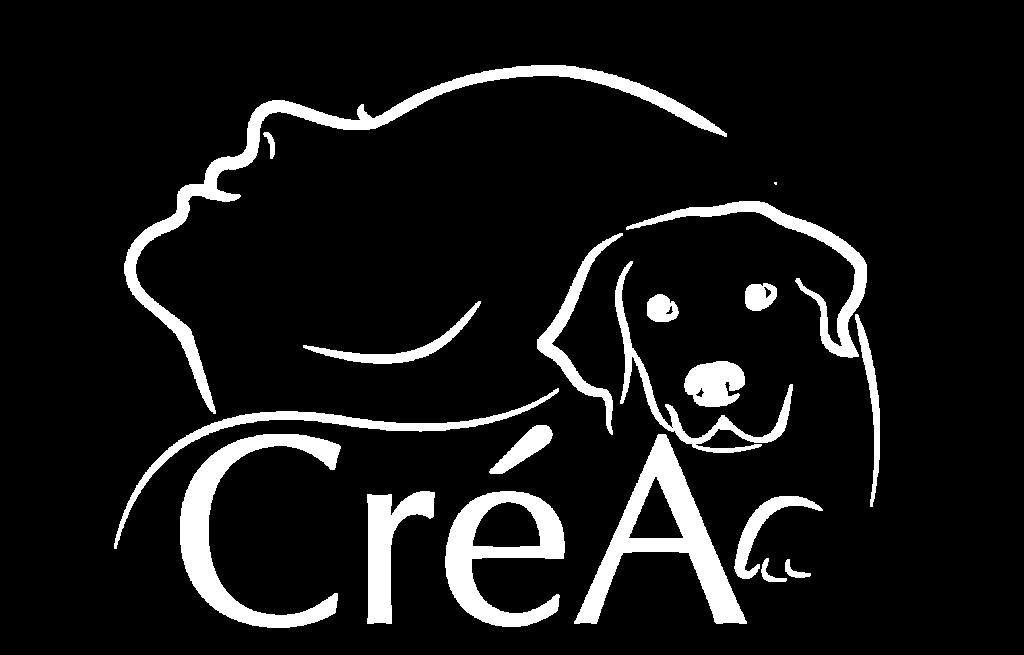 Logo CréA : l'animal créateur de lien